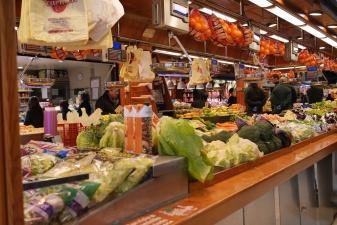 Verduras en Mercado de la Paz de Madrid