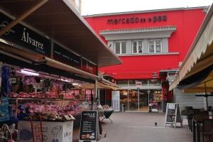 Mercado de la Paz-Madrid
