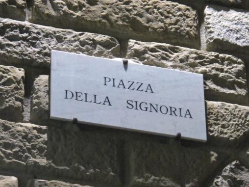 Plaza della Signoría