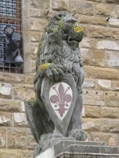 El Marzocco. Emblema de la Ciudad.