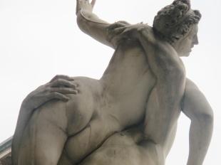 Rapto de las Sabinas de Giambologna