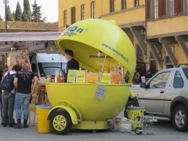 Vendedor de refrescos en S. Croce