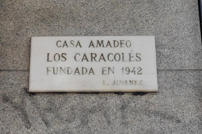 Rastro, Cascorro, Caracoles