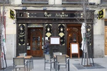 Puerta del Café Vergara