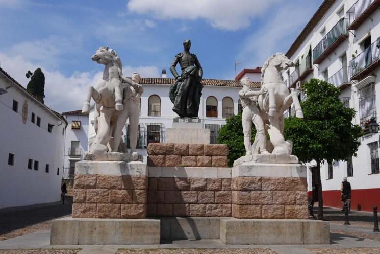 Manolete. Plaza Conde de Priego. Córdoba